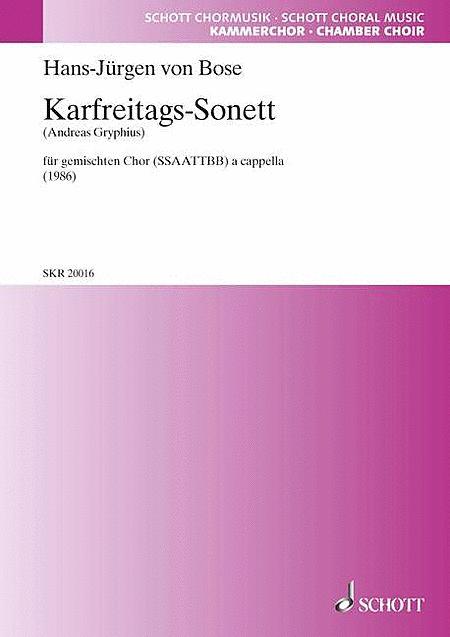 Karfreitags-Sonett