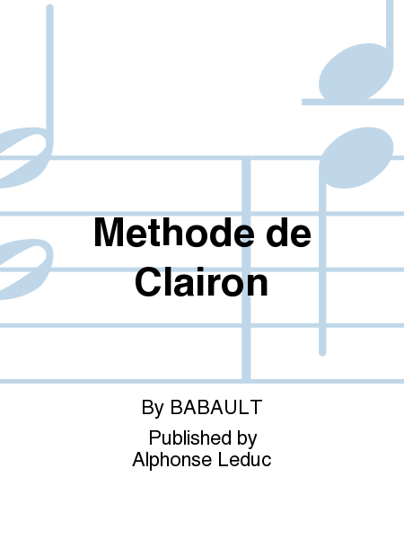 Methode de Clairon