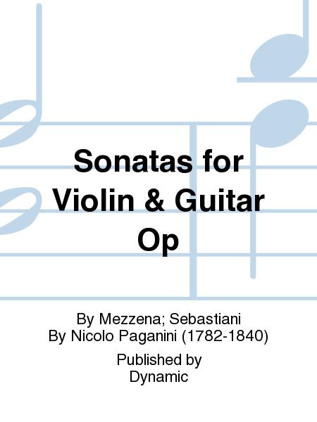 Sonatas for Violin & Guitar Op