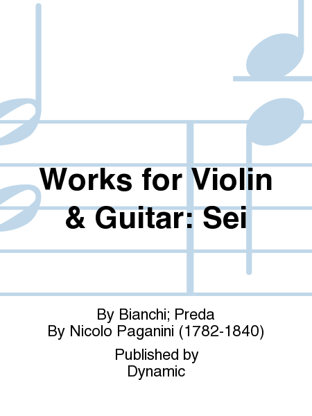 Works for Violin & Guitar: Sei