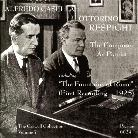 Alfredo Casella and Ottorino R