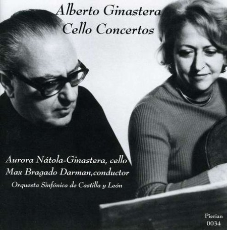 Alberto Ginastera Cello Concer