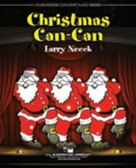 Christmas Can-Can (Score)