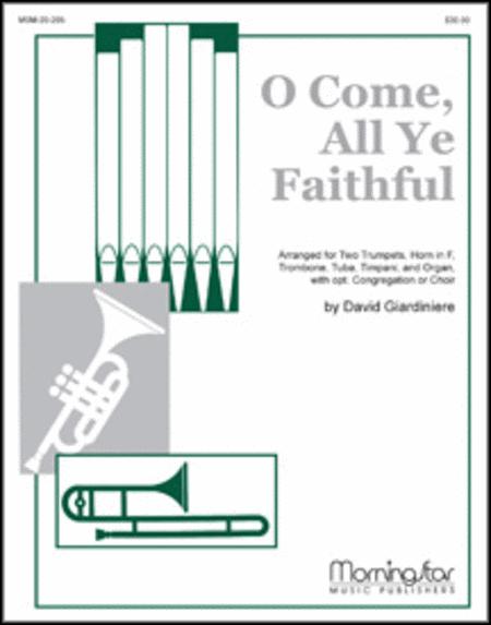 o come all ye faithful sheet music pdf