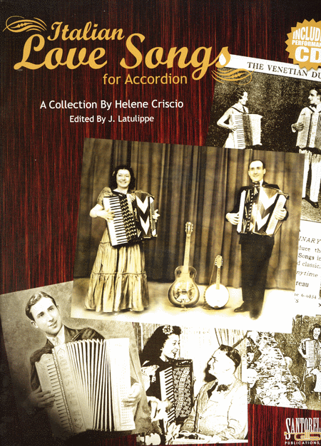 Italian Love Songs for Accordion with CD