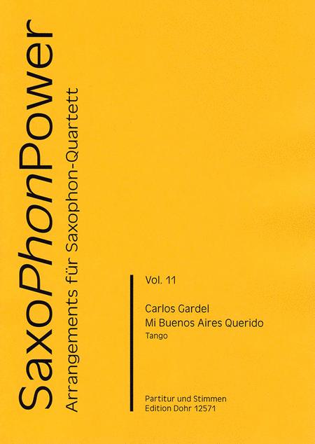 Mi Buenos Aires Querido fur Saxophonquartett