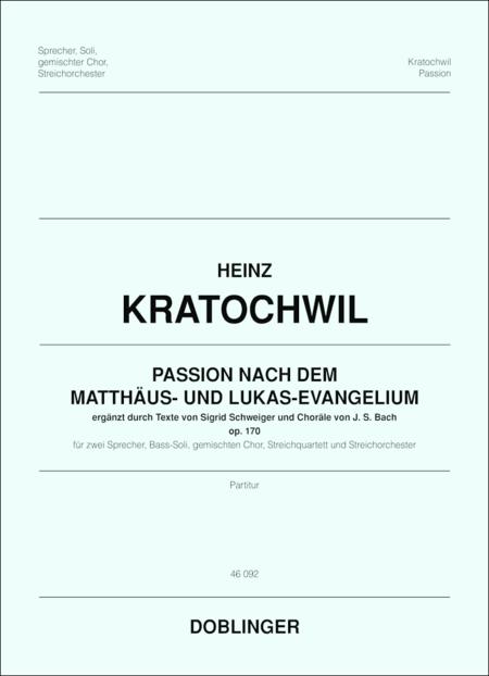 Passion nach dem Matthaus- und Lukas-Evangelium, op. 170