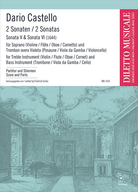 2 Sonaten (Sonata V, Sonata VI, 1644)