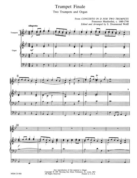 Trumpet Finale
