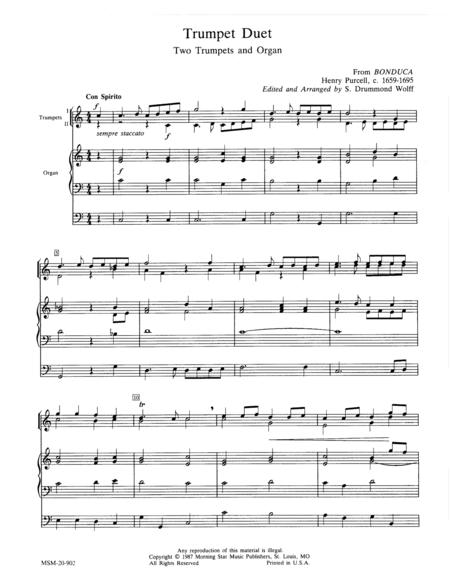Trumpet Duet