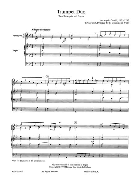Trumpet Duo