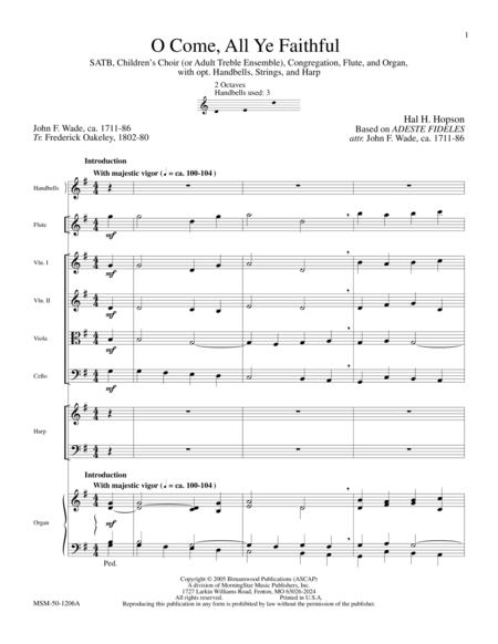 O Come, All Ye Faithful (Full Score)