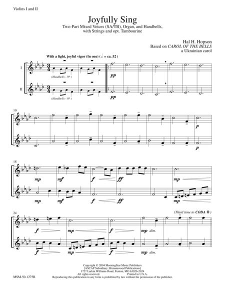 Joyfully Sing (Instrumental Parts)