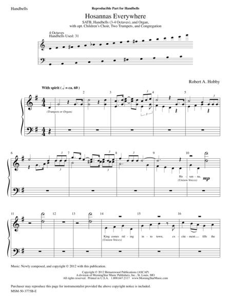 Hosannas Everywhere (Instrumental Parts)