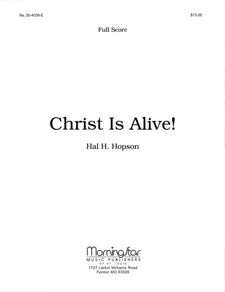 Christ Is Alive! (Full Score)