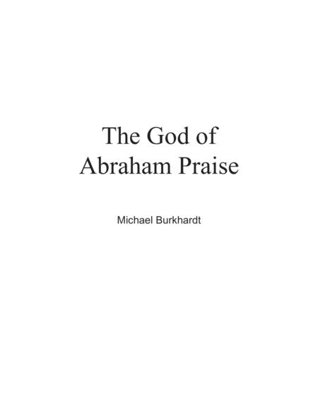 The God of Abraham Praise (Full Score)