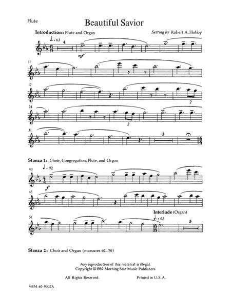 Beautiful Savior (Flute Part)