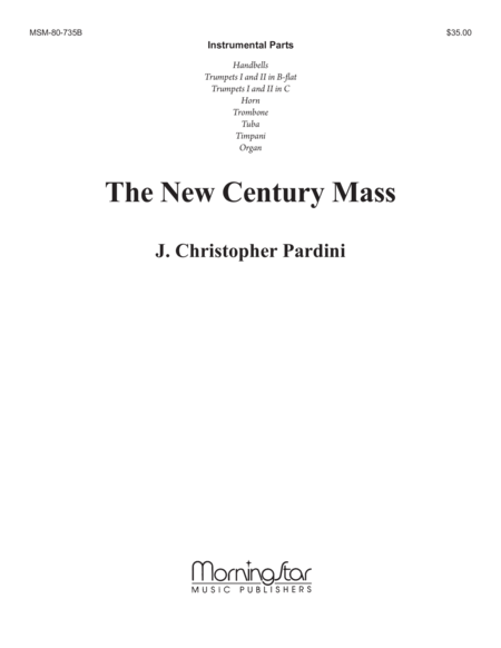 The New Century Mass (Instrumental Parts)