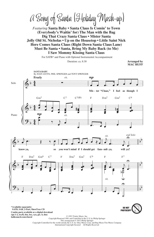A Song Of Santa (Medley)
