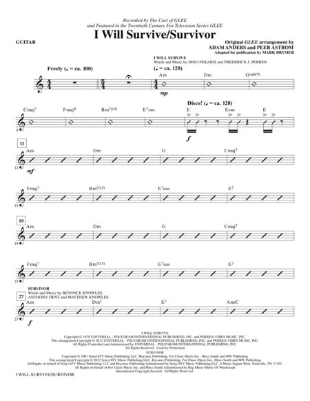 i will survive violin sheet music pdf