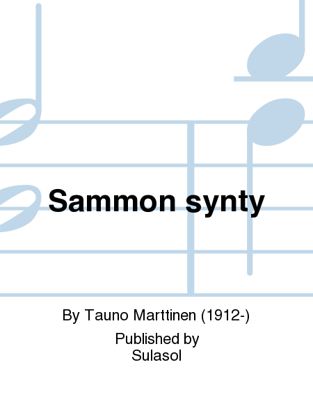 Sammon synty