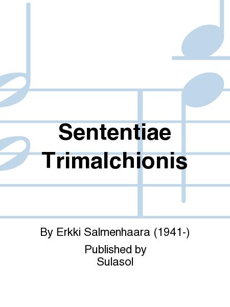 Sententiae Trimalchionis