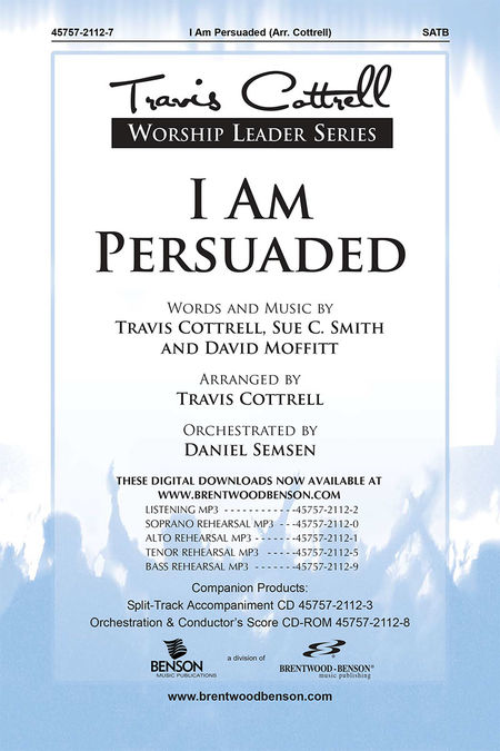 I Am Persuaded (Split Track Accompaniment CD)