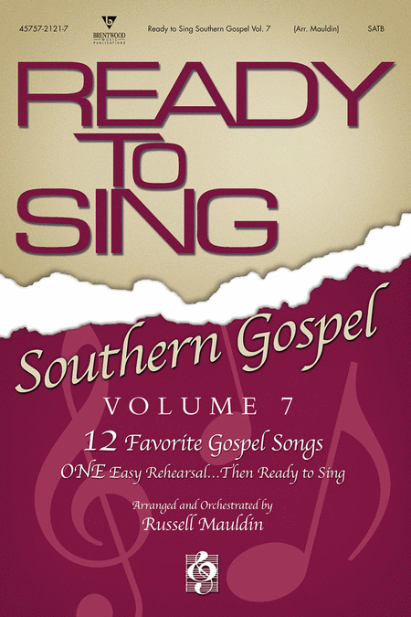 Ready To Sing Southern Gospel, Volume 7 (Split Track Accompaniment CD)