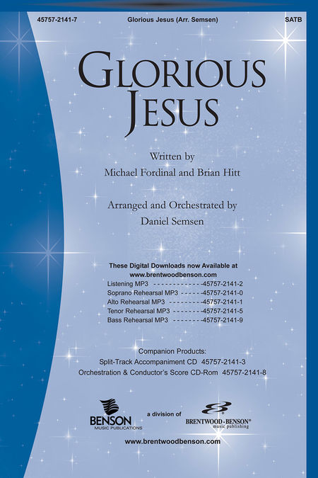 Glorious Jesus (Split Track Accompaniment CD)