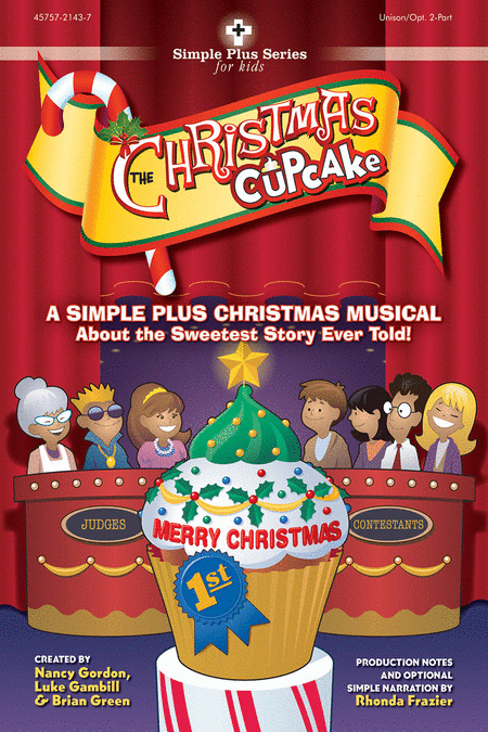 The Christmas Cupcake (Split Track Accompaniment DVD)