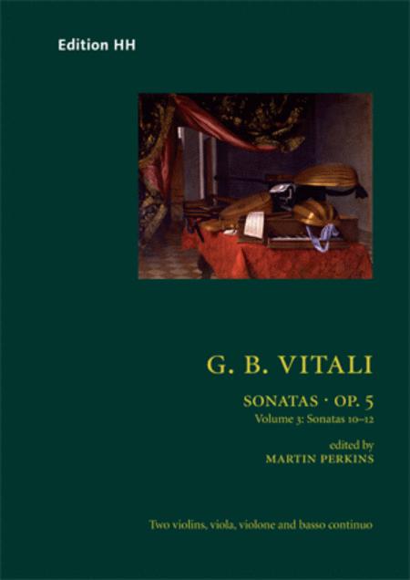 Sonatas, Op. 5 vol. 3
