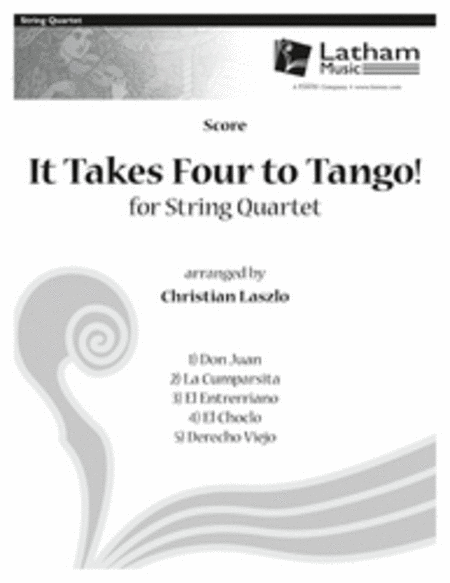 It Takes Four to Tango! for String Quartet - Score