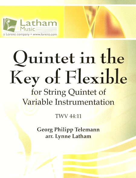 Quintet in the Key of Flexible (TWV 44:11)