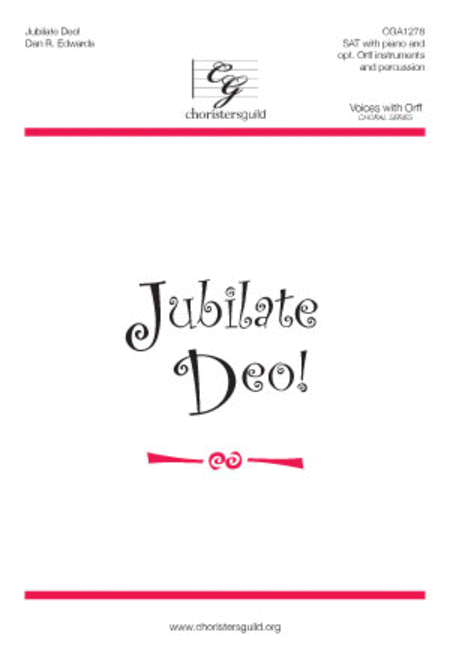 Jubilate Deo! - Reproducible Instrument Parts