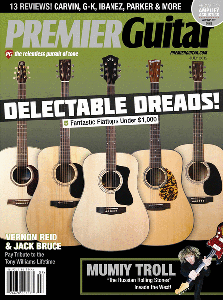 Premier Guitar Magazine - July 2012