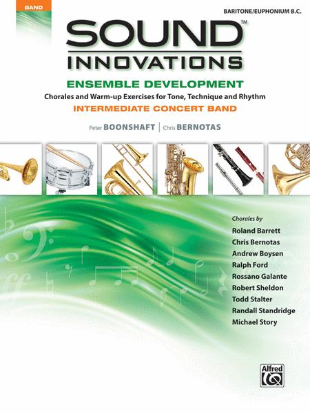 Sound Innovations for Concert Band -- Ensemble Development for Intermediate Concert Band