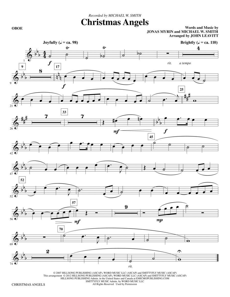 Christmas Angels - Oboe