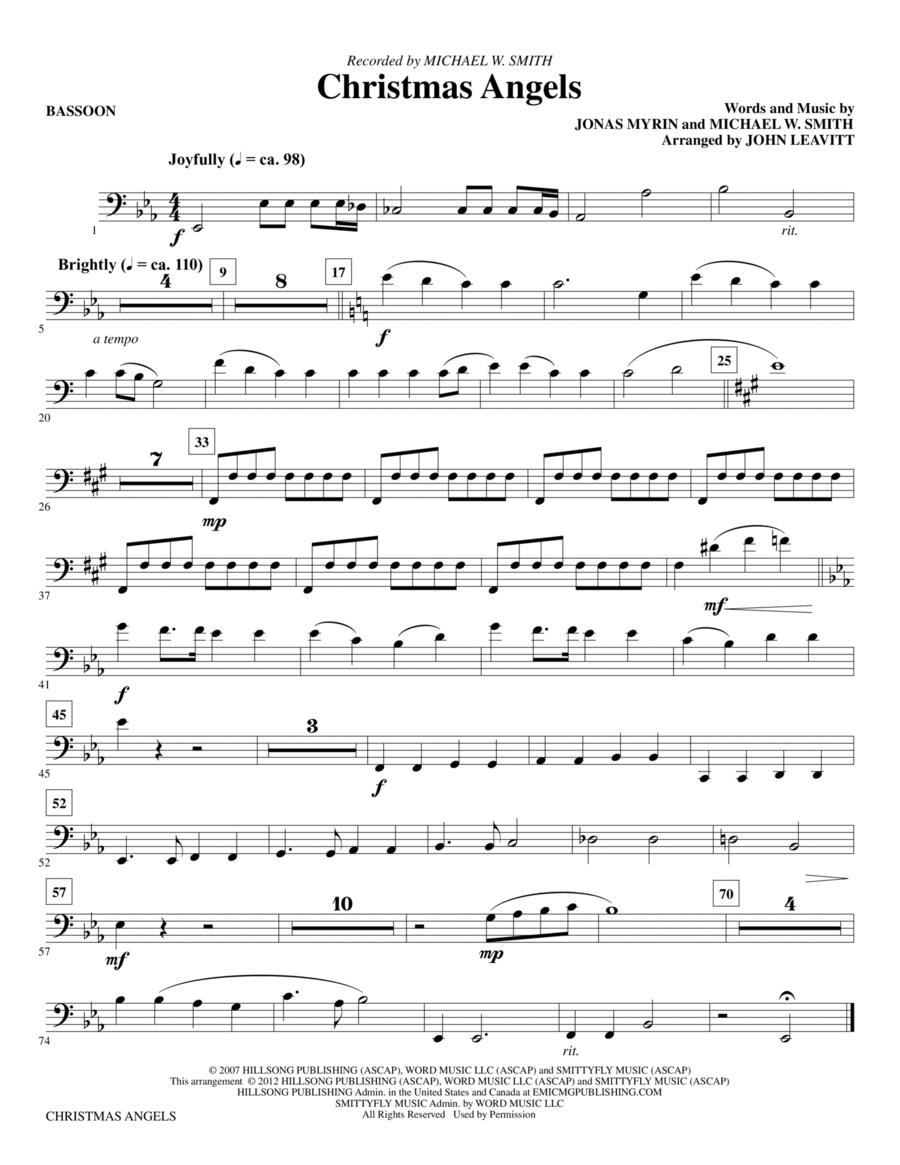 Christmas Angels - Bassoon