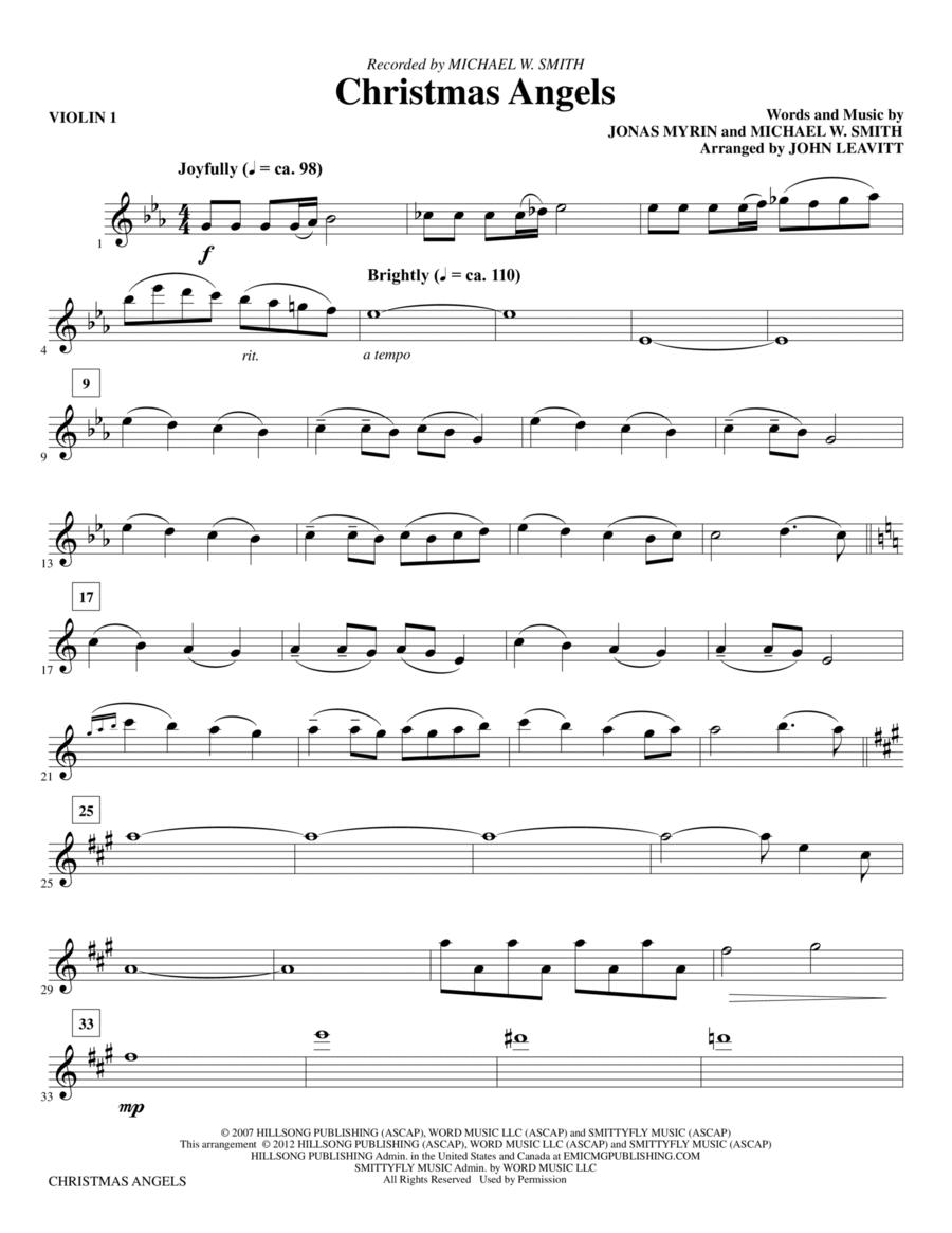 Christmas Angels - Violin 1