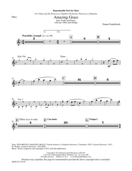 Amazing Grace (Instrumental Parts)