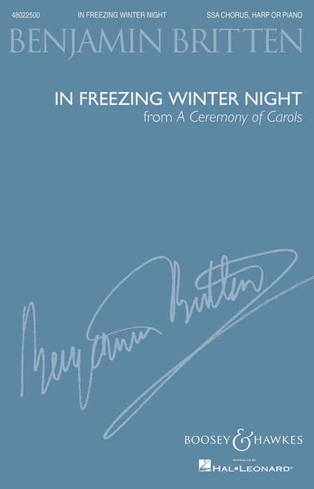 In Freezing Winter Night (from A Ceremony of Carols)