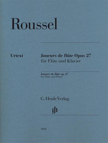 Joueurs de Flute, Op. 27