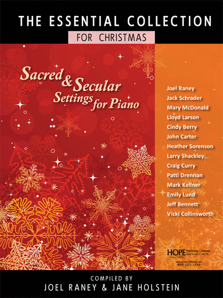 The Essential Collection For Christmas (Sacred and Secular Settings For Piano)