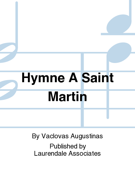 Hymne A Saint Martin