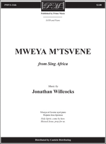 Mweya M'tsvene from Sing Africa