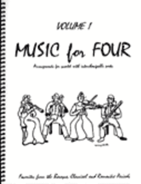 Music for Four, Volume 1, Set of 4 Parts (Wind Quartet)