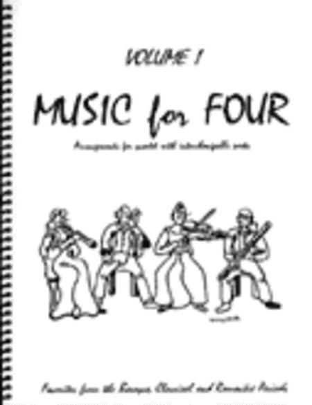 Music for Four, Volume 1, Set of 5 Parts (Piano Quintet - String Quartet plus Piano))