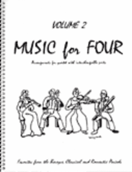 Music for Four, Volume 2, Set of 5 Parts (Piano Quintet - String Quartet plus Piano))