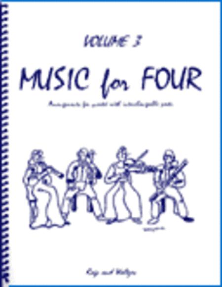 Music for Four, Volume 3, Set of 4 Parts (Wind Quartet)