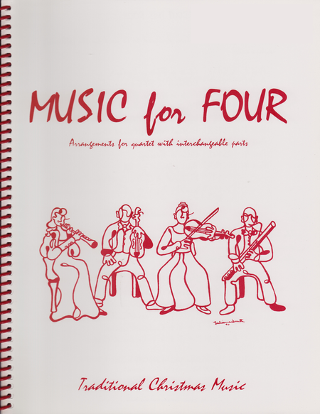 Music for Four, Christmas, Set of 4 Parts (String Quartet)